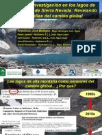 40 años de investigación en los lagos de alta montaña de Sierra Nevada