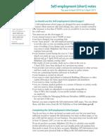 Www.hmrc.Gov.uk Worksheets SA103S-Notes