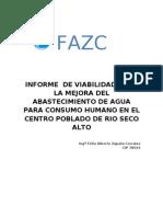 Informe Rio Seco Alto