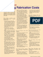 Reducing Fabrication Costs