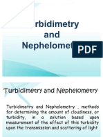turbidimetry n nephelometry
