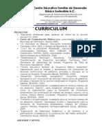 Curriculum Cefadebas