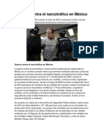 Guerra contra el narcotráfico en México