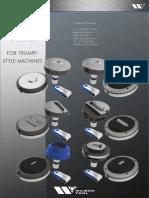 Diferentele intre sistemele de scule de deformare pentru Trumpf Wilson Tool HP si Wilson Tool Basix