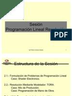 Sesion Programacion Lineal Resolucion