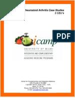 iCamp Rheumatoid Arthritis Case Studies