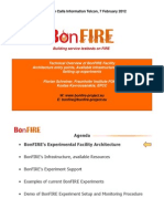 BonFIRE 2012 InfoCall Technical Overview of BonFIREs Facility
