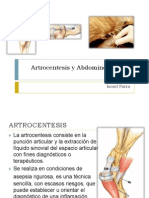 Artrocentesis y Abdominocentesis