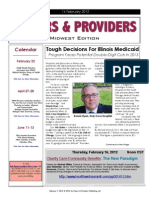 Payers & Providers Midwest Edition – Issue of February 14, 2012