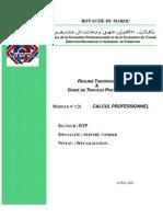M03 - CALCUL PROFESSIONNEL