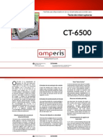 Teste Interruptores Amperis CT 6500 PT