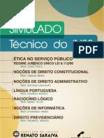 1 Simulado Inss 2012 Tecnico - Saraiva