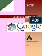 Manual de Google Sites
