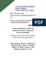 Revista Da Sociedade Brasileira de Medicina Tropical