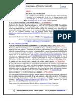 GSA Announcements Feb 14th 2012