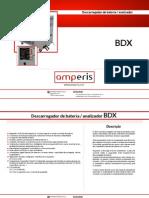 Descarregador de Baterias BDX - Amperis