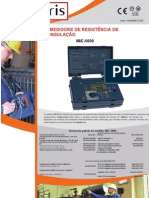 Medidor de Resistência de isolamento MIC-5000 - Amperis