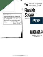 Finnish, Suomi [Language 30]