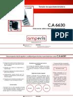 Testador de Baterias CA6630 - Amperis
