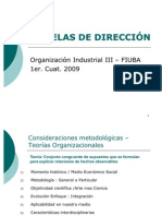 A Teorica PPT EscuelasDireccion Cambios 2009[1]