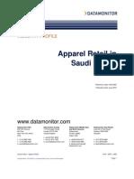 Apparel Retail in Saudi Arabia