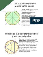 División de la circunferencia en cuatro y ocho [Modo de compatibilidad]