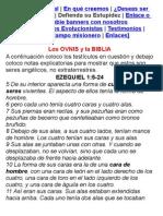 La Interpretacion Biblica Sobre El Asunto Extraterrestre Por El Pastor Juan Soler