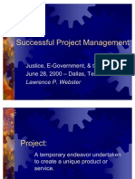 0bfbSuccessful Project Management