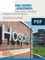 CSS Report -- Incentivizing Patient Financial Assistance