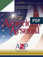 A New American Arsenal Final