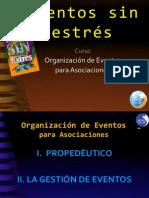 Curso de Organización de Eventos - Eventos sin estrés -