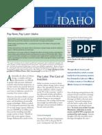 PNPL 2011 Idaho