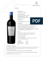 Pascual Toso Alta Reserve Cabernet 2009