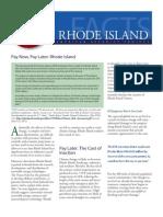 PNPL 2011 Rhode Island
