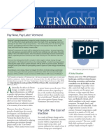 PNPL 2011 Vermont
