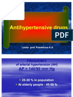 Anti Hypertensive Agents.