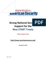 New START - Information Pack - 01 Dec 2010 - The Consensus for American Security - FINAL