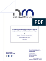 The Impact of Labor Market Entry Conditions on Initial Job Assignment, Human Capital Accumulation and Wages