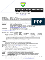 TKD brasileiro oficio convite