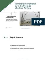 IHL in oPt Presentation English 070823