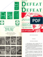 How You May Defeat DEFEAT by W. V. Grant, Sr.