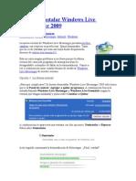 Cómo desinstalar Windows Live Messenger 2009