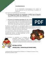 LOS FUNDAMENTOS PSICOPEDAGÓGICOS