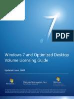 Windows 7 and Optimized Desktop Volume Licensing Guide