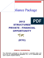 (2012) KYC Compliance Package