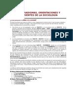 Corrientes Sociologicas Analisis Critico