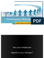 Performance Management - Human Resource Management