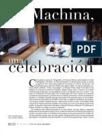 La Machina. Una celebración. LRV 142