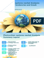 Photo Voltaic Systems Market Analysis Ppt English