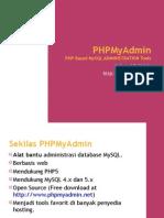 Administrasi MySQL dengan PHPMyAdmin